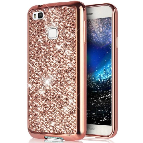 Glitter Bling Soft Back Cover Case For Huawei Honor 5A 8 Lite P8 P9 P10 P20