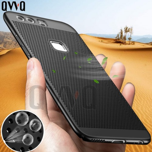 Luxury Heat dissipation Phone Case For Huawei P9 P8 Lite 2017 PC Full Cover For Huawei