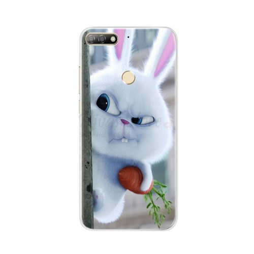 Phone Cases for Huawei Honor 7C Cover Huawei Y7 Prime Pro 2018 Silicone Case Soft TPU