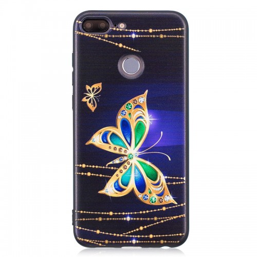 WeeYRN Luxury Soft Case For Huawei Honor 9 lite Case 3D Cute Silicone TPU Full Protective