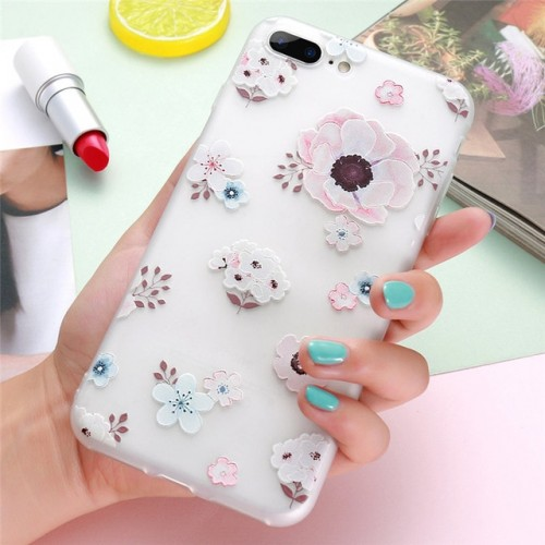 3D Flower Case For iPhone a