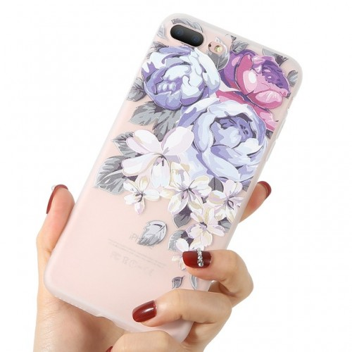 3D Flower Case For iPhone b