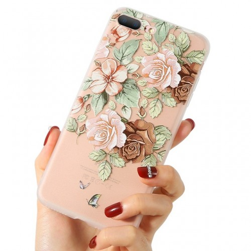 3D Flower Case For iPhone c