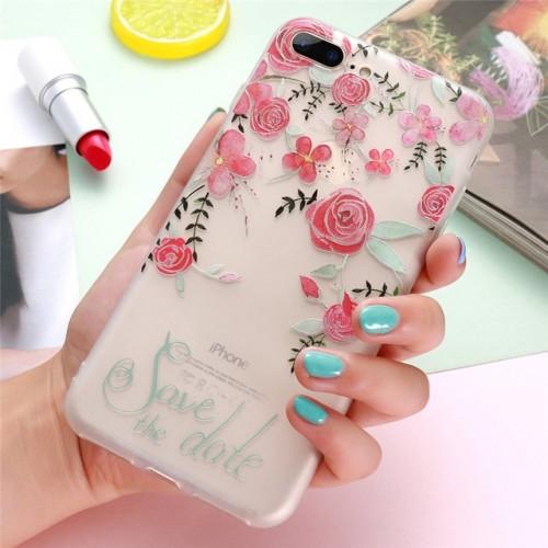 3D Flower Case For iPhone d