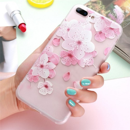 3D Flower Case For iPhone f