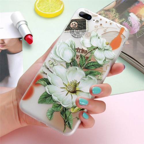 3D Flower Case For iPhone h