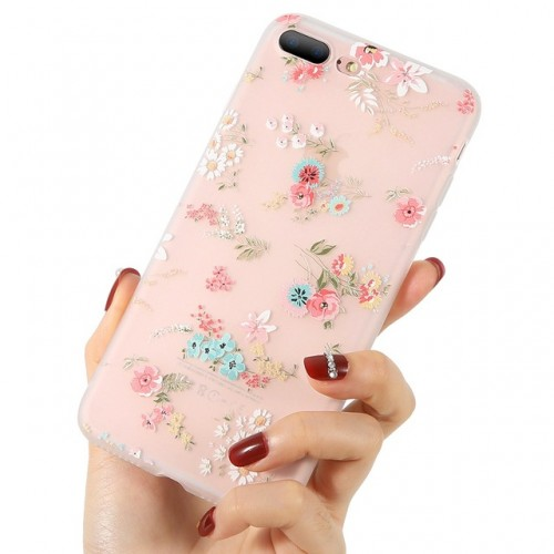 3D Flower Case For iPhone i