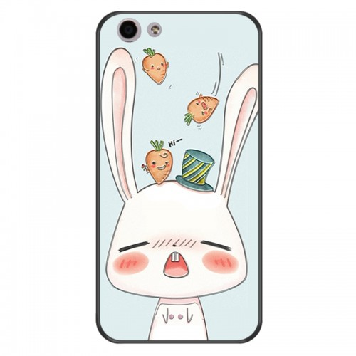 3D Lovely Phone Case For OPPO Cute Pig Pretty Flower TPU Silicone