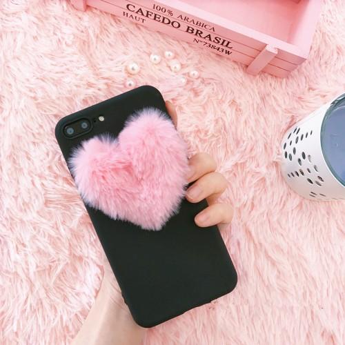 3D love plush super cute soft case for OPPO