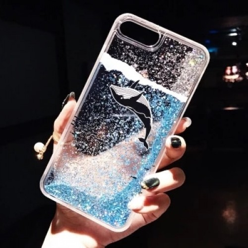 Luxury Dynamic Liquid Glitter soft case on Silicone phone Case For oppo