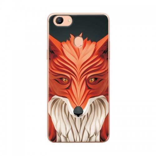 Soft Silicone Attractive Fashion Lion Fox For OPPO