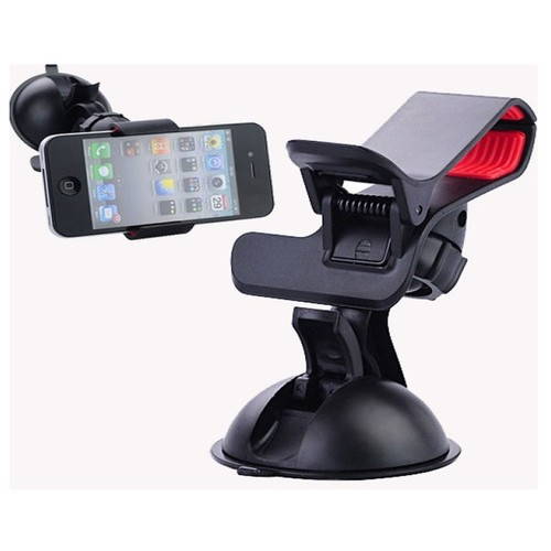 Car Phone Holder Mount Sucker Windshield Rotating Bracket Stand Universal For Phone GPS Tablet