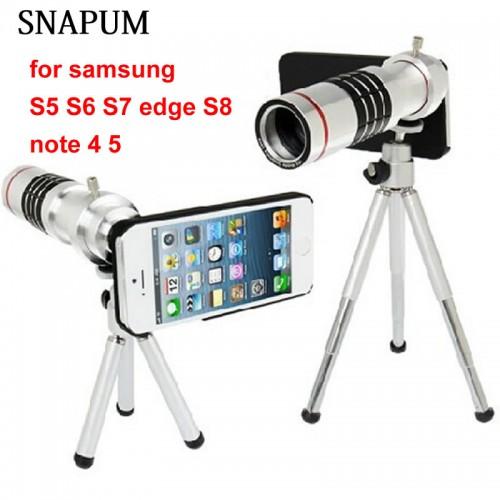 SNAPUM Cellphone mobile phone 18x Camera Zoom optical Telescope telephoto Lens For Samsung note 4 5
