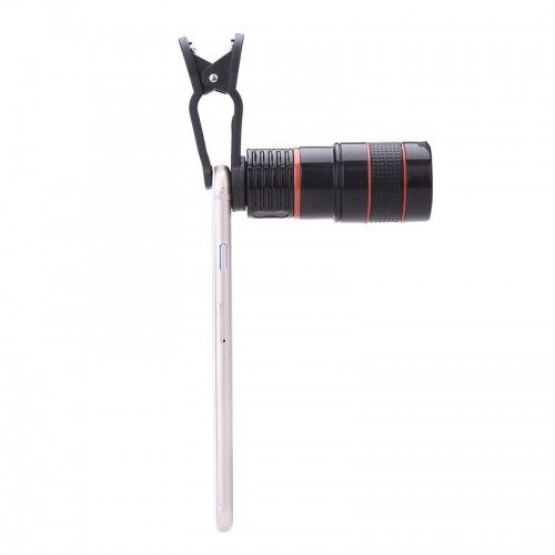 Universal Mobile Cell Phone Lens 8X Zoom Telescope Camera Telephoto Lenses For iPhone 5s 6s 7