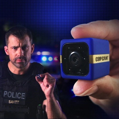 Atomic Beam Cop Cam Mini Security Camera by Wireless Dash Cam and Action Cam