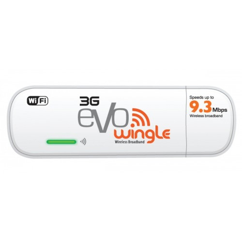 3G EVO Wingle 9.3 mbps - White