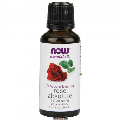 Now Foods, Essential Oils, 100% Pure Natural Rose Absolute Oil (30ml)