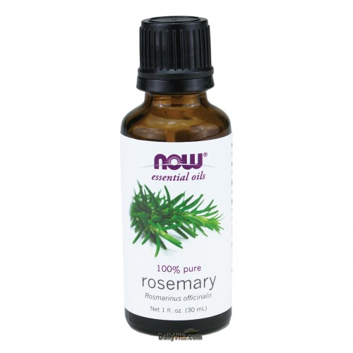 Now Foods, Essential Oils, 100% Pure Rosemary Oil 30ml