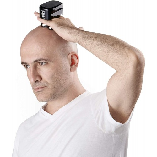 Skull Shaver Pitbull Gold Mens Electric Shaver Razor For Head and Face Rechargeable