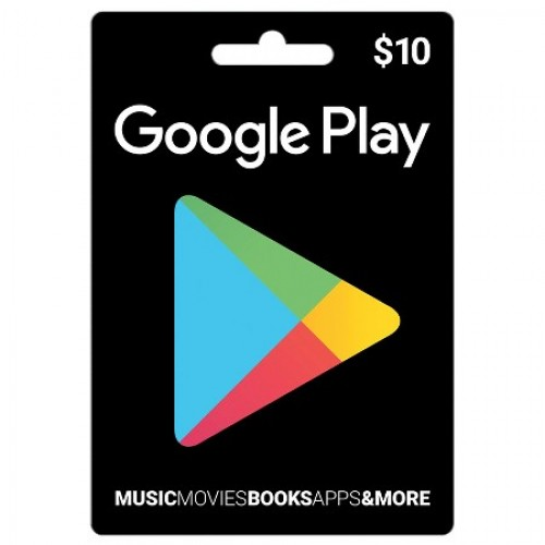Google Play Gift Card (US) $10