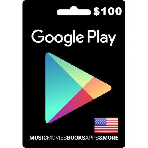 Google Play Gift Card (US) $100