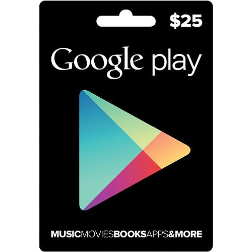 Google Play Gift Card (US) $25