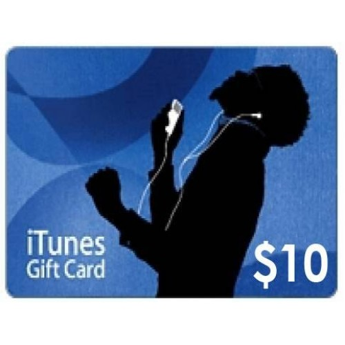 iTunes Gift Card (US) $10