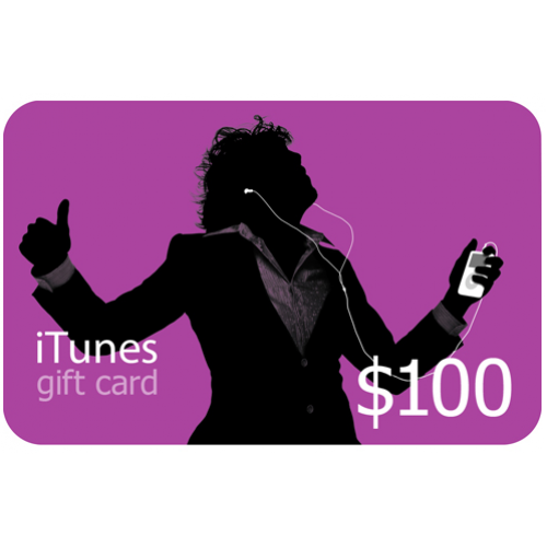 iTunes Gift Card (US) $100