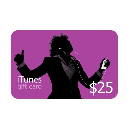 iTunes Gift Card (US) $25