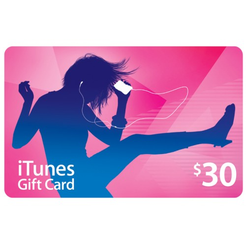 iTunes Gift Card (US) $30