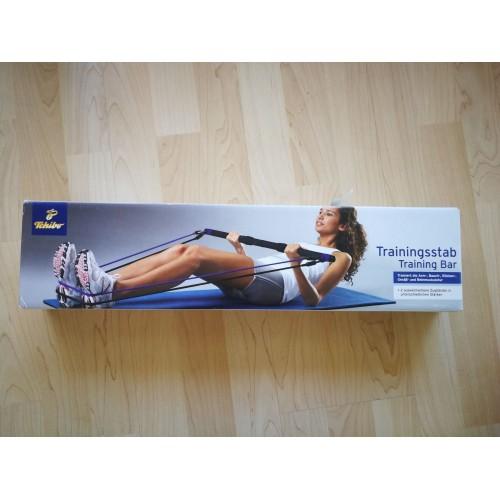 92CM Multi-functional Elastic Fitness Training Bar Home Gym Workout Puller Bar