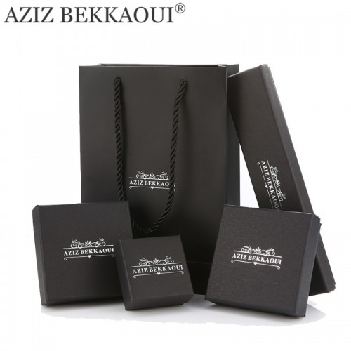 AZIZ BEKKAOUI brand JEWELRY PACKING BOXES for bracelet earring ring necklace cool black box jewelry.jfif