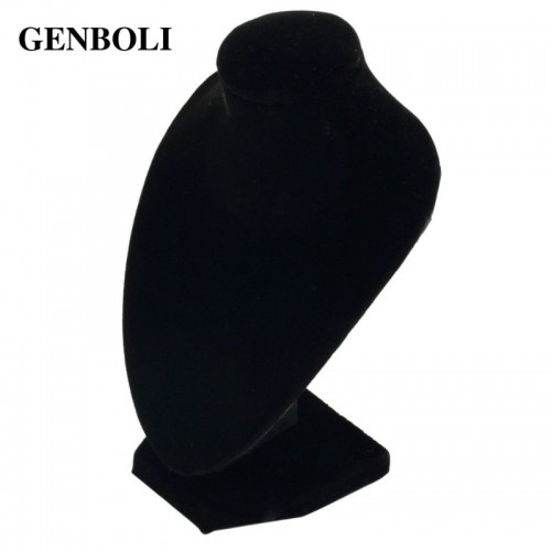 GENBOLI Small Size Necklace Bracelet Pendant Display Stand Rack Jewelry Showing Holder Velvet Packaging Display.jfif