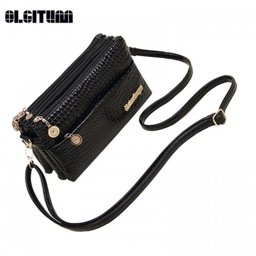 OLGITUM New Small Shoulder Bag Crocodile Pattern Bag Women Messenger Bags for Women