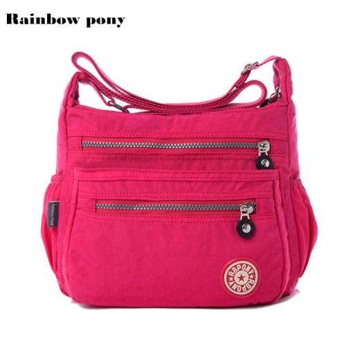 PONY Women Bag Nylon Women Bags Shoulder Crossbody Bags Fashion Ladies Handbags School Bags