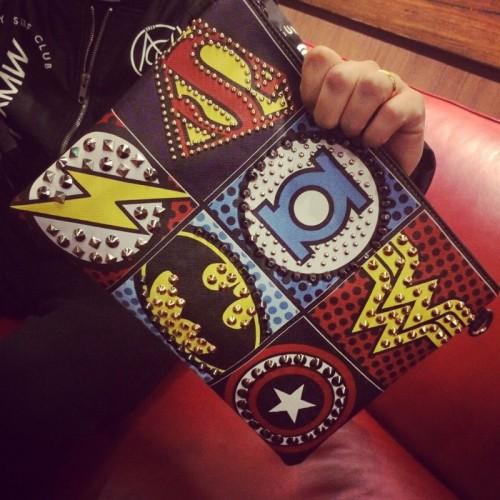 Punk Style Women s Bags Rivet Handbags Shoulder Messenger Bags Envelope Clutches Purse