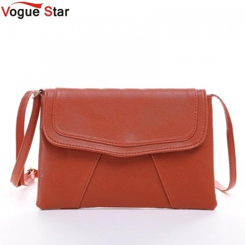 Vogue Star New Fashion Women Envelope Bag PU Leather bag Handbag Crossbody Bag Purses