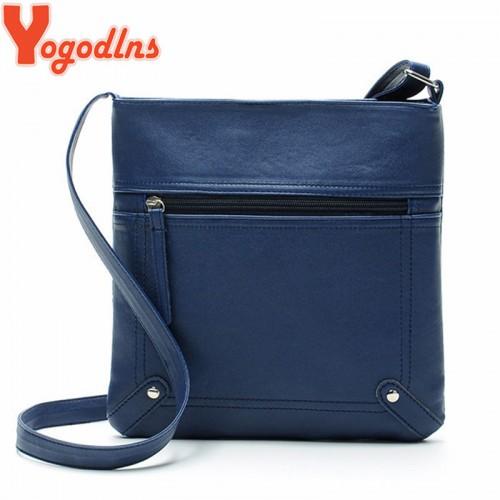 Yogodlns Designers Women Messenger Bags Females Bucket Bag Leather Crossbody Shoulder Bag Bolsas Femininas Sac A