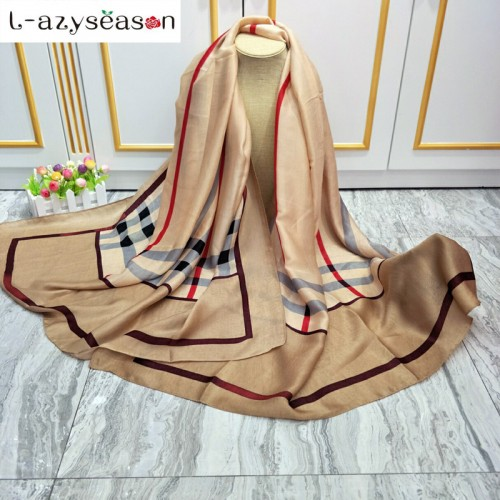 brand scarf Cashmere feeling luxury pashmina winter women Scarves shawls wraps lady Autumn All match