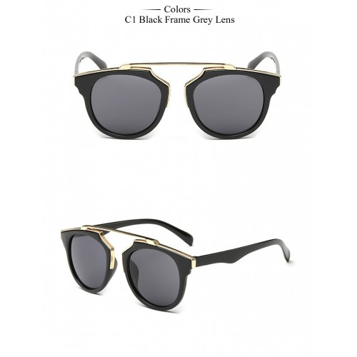 Black Cat Eye Vintage Sun Glasses