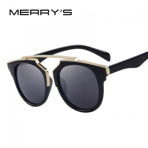 MERRY S Fashion Women Cat Eye Sunglasses UV400