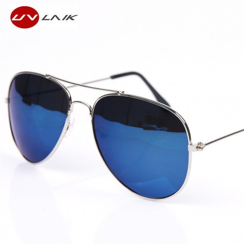 UVLAIK Aviation Sun Glasses For Men Women Brand Designer Vintage Masculine Sunglasses Female Male Glasses Women