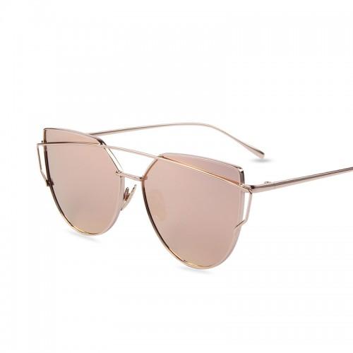 Venda quente Espelho Plano Lente Olho de Gato Mulheres culos De Sol Cl ssico marca Designer