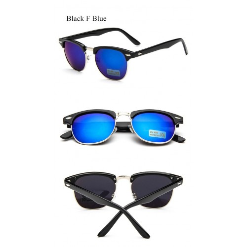 Women Mirror Vintage Points Sun Glasses  (5)