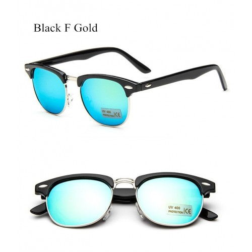 Women Mirror Vintage Points Sun Glasses  (6)