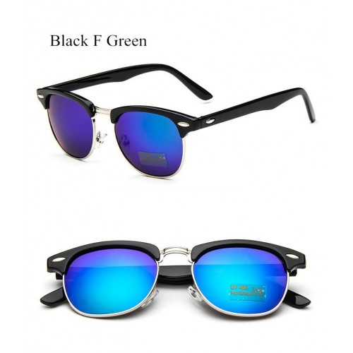 Women Mirror Vintage Points Sun Glasses  (7)