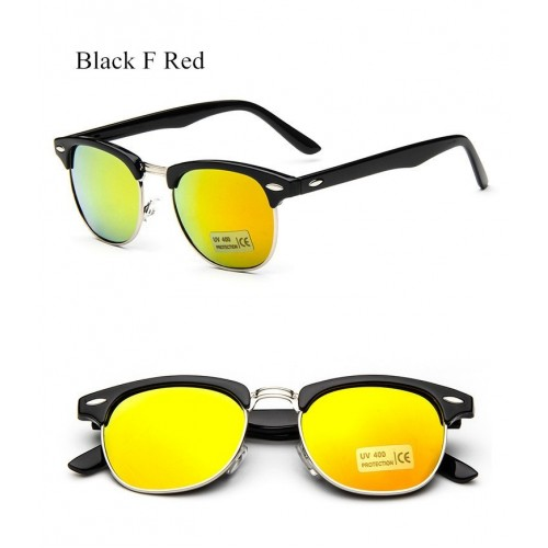 Women Mirror Vintage Points Sun Glasses  (8)