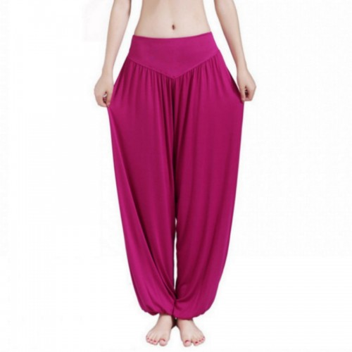 New Women Casual Harem Pants High Waist Dance Pants Woman Fashion Wide Leg Loose Trousers Bloomers