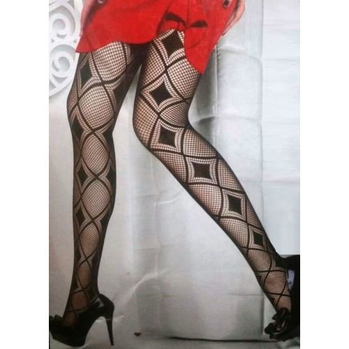 Womens Net Diamond Fishnet Pantyhose Tights Stockings