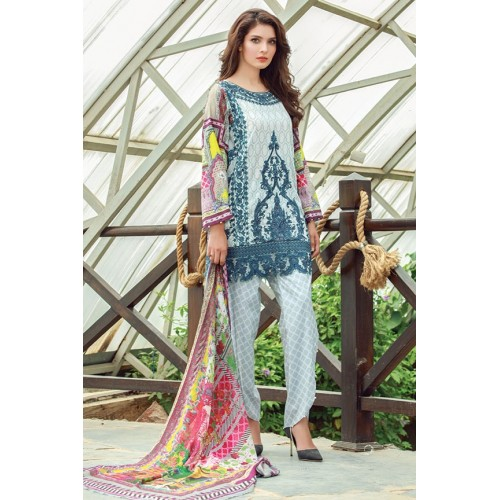 MWU01852 PRINT B DIGITAL PRINTED LAWN UNSTITCHED